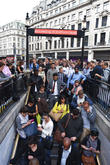 London Underground Tube Strike and Oxford Circus