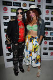 Phoebe Price and Michael Jackson Impersonator