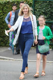 Wimbledon, Lisa Faulkner, Billie Coghill and Tennis