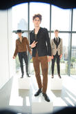 New York Fashion Week, S, Men's S, J and Lindeberg