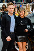 Olly Murs and Caroline Flack at x factor