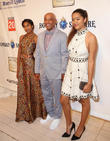 Russell Simmons and Daughters