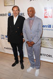 Simon De Pury and Russell Simmons