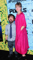 Peter Dinklage and Erica Schmidt