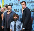 Josh Gad, Peter Dinklage and Adam Sandler