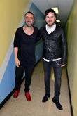 Mario Domm and Pablo Hurtado at James L Knight Center