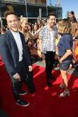 Olly Murs, Rita Ora, Nick Grimshaw and Caroline Flack