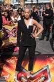 Rita Ora and Cheryl Fernandez-Versini at x factor and Wembley Arena