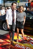 Nick Grimshaw and Caroline Flack