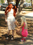 Frenchy Morgan and Phoebe Price