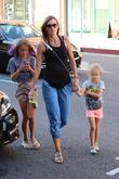 Rhea Durham, Grace Wahlberg and Elia Wahlberg