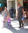 Eric Dane, Rebecca Gayheart and Georgia Dane