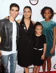 Cameron Boyce, Salma Hayek, Daughter Valentina Paloma Pinault and Quvenzhane Wallis