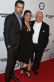 Colin Farrell, Salma Hayek and Jim Sheridan