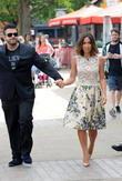 Adam Richman and Myleene Klass