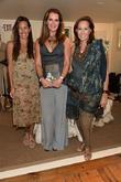Gabby Karan, Brooke Shields and Donna Karan