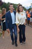 Alena Seredova and Alessandro Nasi