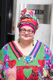 Camila Batmanghelidjh at BBC Portland Place