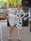 Denise Van Outen and Kimberley Walsh