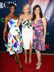 Condola Rashad, Malin Akerman and Maggie Siff