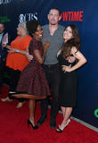 Shanola Hampton, Steve Howey and Sarah Shahi