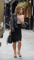 Myleene Klass at Leicester Square