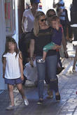 Sarah Michelle Gellar, Charlotte Grace Prinze and Rocky James Prinze