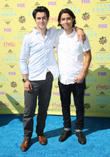 David Henrie and Lorenzo James Henrie
