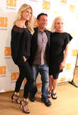 Christie Brinkley, Eugene Pack and Debbie Harry