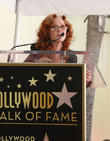 Bonnie Raitt and Joe Smith at On The Hollywood Walk Of Fame