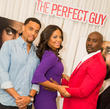 Michael Ealy, Sanaa Lathan and Morris Chestnut