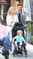 Michael Buble, Luisana Lopilato and Noah Buble