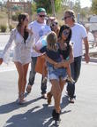 Kourtney Kardashian and Penelope Scotland Disick