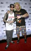 Travis Barker and Riff Raff