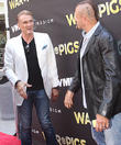 Dolph Lundgren and Chuck Liddell