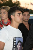 Gigi Hadad and Joe Jonas