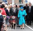 The Rt. Hon. Donald Wilson, Queen Elizabeth Ii and The Duke Of Edinburgh