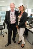 Chris Tarrant and Jane Bird