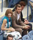 David Beckham, Anna Wintour and Simon Fuller