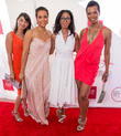 Raven Majia, Daphne Wayans, Robi Reed and Vanessa Williams