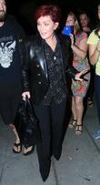 Sharon Osbourne Turns Into Naughty Schoolgirl In Restaurants