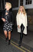 Ashley Roberts and Stacey Solomon