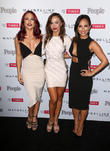 Sharna Burgess, Karina Smirnoff and Cheryl Burke