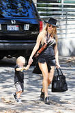 Fergie and Axl Jack Duhamel