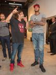 Domingo Zapata and Carmelo Anthony