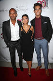 Amaury Nolasco, Eva Longoria and Jose Moreno Brooks