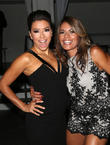 Eva Longoria and Lisa Vidal