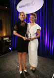 Jenna Elfman and Kim Biddle