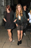 Princess Eugenie, Cara Delevingne and Clara Paget