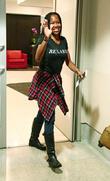 Regina King at LAX